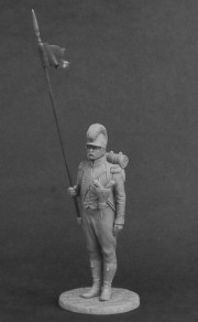 2nd Eagle-bearer of the Croatian Provisional infantry regiments, 1811-13