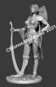 Worlds Of Fantasy: Elf woman warrior