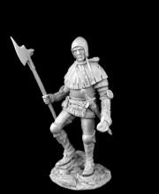 Medieval infatryman XV c.
