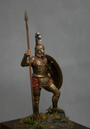 Greek Hoplite, VI cent. BC
