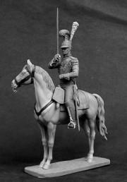 Officer of the Saxon cuirassier regiment von Zastrow, 1810-13