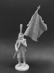 Standard-bearer of grenadier regiments, Russia 1812-14